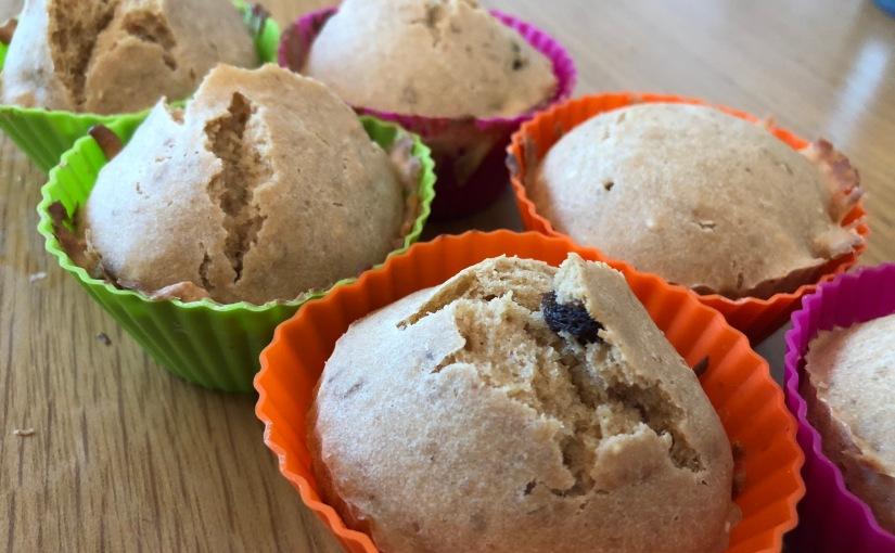 《親子烘焙食譜 – 有機提子穀物鬆餅》