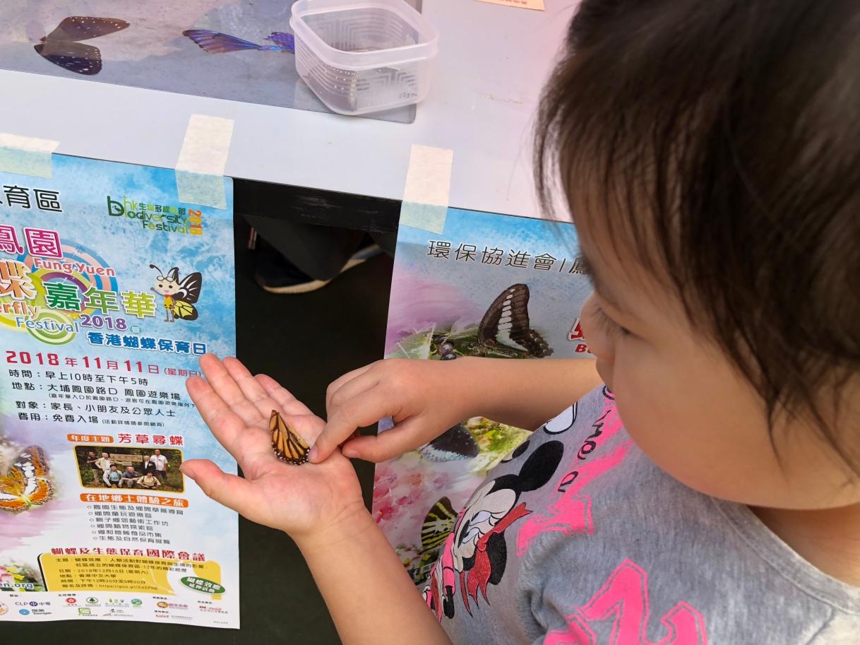 從小學習保育、鳳園蝴蝶保育區